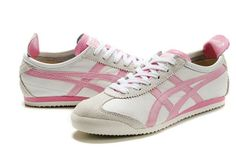 Asics Onitsuka Tiger Mexico 66 Shoes In Off-White/Pink