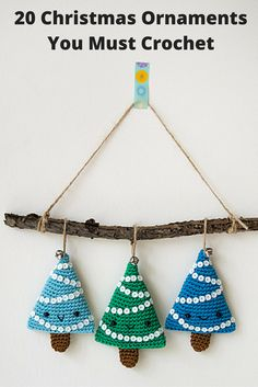 20 Christmas Ornaments You Must Crochet