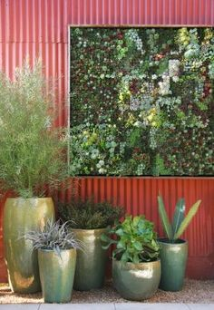 "More than 2,000 people ""liked"" this image on Facebook this weekend. Here's a look at ten more vertical gardens around the world. Is there a great vertical garden near you?"