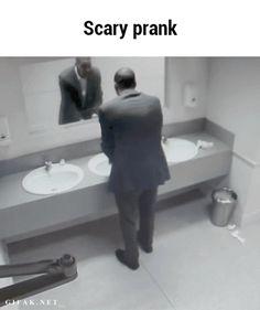 Scary prank GIF