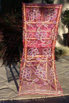 Bride Chair Cover, Wedding Decor, Bridal Shower Decor