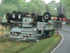Image detail for -Big Rig & Truck Accidents~~~ that wasn't an easy thing to do.  could have been a project with tax dollars involved..