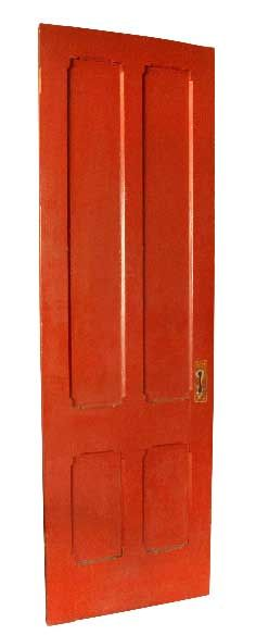 Gothic style door from a Williamsburg church  95 in. H x 29.5 in. W x 1.5 in. thick