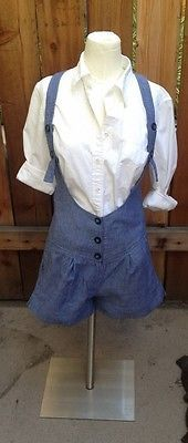 Overalls, romper, suspenders....cute. This can transition well from winter to summer. By Silence + Noise of Urban Outfitters, Sz 4