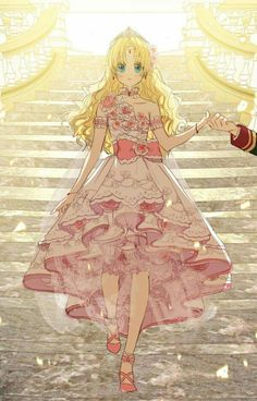 Suddenly Became A Princess One Day Pretty Anime Girl, Beautiful Anime Girl, Kawaii Anime Girl, Anime Art Girl, Manga Anime, Manhwa Manga, Anime Princess, My Princess, Princess Zelda