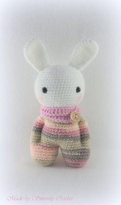 "✣ Bunny ""Sock Doll"", gehäkelt ✣ von ✣  Smoozly Crochet ✣ auf DaWanda.com"