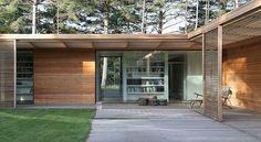 Villa danesa inspirada en viviendas tradicionales