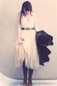 This blush tule dress. Maybe a bridemaid dress