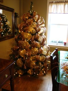 leopard christmas tree toppers | Mrs. C with Style!: Gold, Green, & Leopard Tree & Garland!