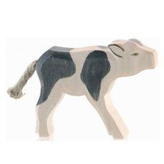 Cow B & W Standing (Ostheimer) - Cow B & W Standing (Ostheimer). This wooden Ostheimer Waldorf toy figure is handcarved and -painted, using natural wood and nontoxic colors that conform with the stringent European toy safety standards. Made in Germany. Toy Workshop, German Toys, Wooden Wagon, Wood Carving Patterns, Popular Toys, Waldorf Toys, Soft Colors, Farm Animals, Wooden Toys