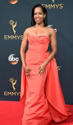 Regina King at the 2016 Emmy's
