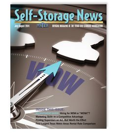 TSSA's Jul/Aug 2014 issue of Self-Storage News designed by Monarch Media & Consulting, Inc.