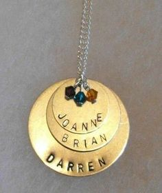 How To: A Metal Stamped Necklace