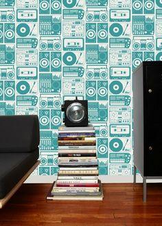 LOVE these 12 unique wallpaper designs.