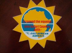 East African Airways Equator Coaster