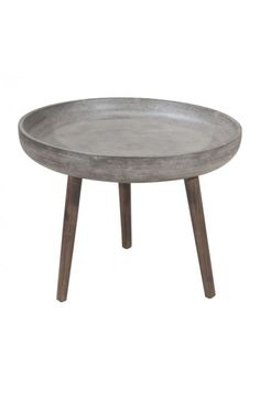 703756 - BROTHER SIDE TABLE CEMENT&NATURAL 107