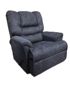 radar blue rocking recliner by serta upholstery u2013 my furniture place - Serta Recliners
