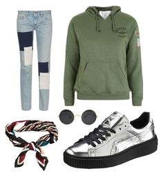 """Untitled #42"" by hedvig-hogstrom-dahl on Polyvore featuring Puma, Topshop, Simon Miller and H&M"