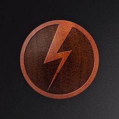 Lightening Bolt Design Laser Engraved Saba Wood Flesh by EtchItBJ
