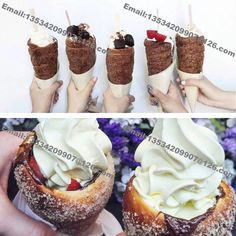 Free Shipping 4pcs Wodden Roll Hungarian Chimney Cake Grill Chimney Cakes making machine Kurtos Kalacs Roller