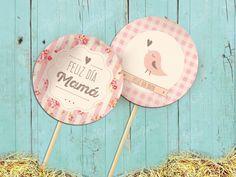Kit Feliz Día Mamá.  Imprimible Personalizable Disponible en la tienda online: http://www.cocojolie.com.ar/diseno-por-producto/kits-imprimibles/kit-dia-de-la-madre-romantico-vintage-imprimibles-editables/