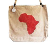 Ali Lamu Shopper Africa Red