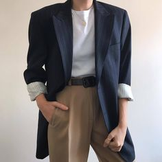 Check out this Stylish spring korean fashion 3897723323 Cute Casual Outfits, Boy Outfits, Fashion Outfits, Fashion Ideas, Korean Outfits, Dress Casual, Fashion Trends, Korean Fashion Men, Mens Fashion
