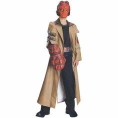 Hellboy Deluxe Child Halloween Costume, Multicolor