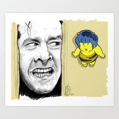 Tom & jerry Art Print by Matteo Lotti - $12.48