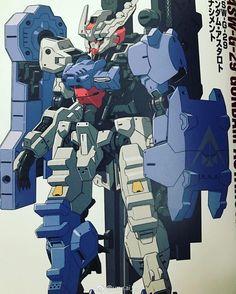 LOVE IT! #gundam astaroth new form - Renacity Rinascimento in Gundam Ace. #gunpla #anime #hobby #manga #plamo #bandai