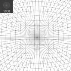 009 Perspective Grid 2 point landscape Paper Art