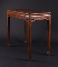 A huanghuali table, Qing Dynasty, China, late 19th Century