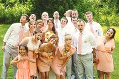 A fun bridal party - Sara Long Photography