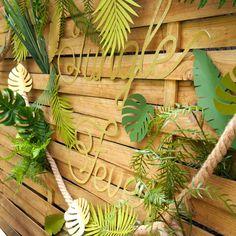 déco jungle diy Jungle Theme Birthday, Zoo Birthday, Safari Theme, Safari Party,