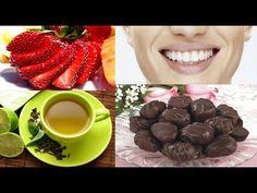 لأسنان ناصعة البياض الشوكولاتة السوداء، والفراولة، والجبن الحل الأمثل ..؟!!