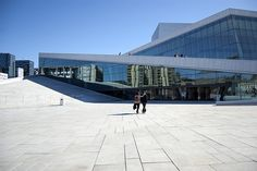 The Oslo Opera House in Norway | Den Norske Opera & Ballett | No Apathy Allowed
