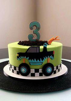 Monster truck cake                                                                                                                                                                                 More