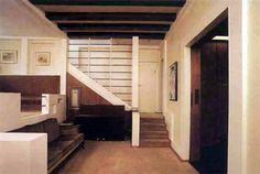 Loos A: House Vienna House for Hans and Anny Moller Interior Landscape Architecture, Interior Architecture, Interior Design, Art Nouveau, Art Deco, Villas, Vienna House, Le Corbusier, Historic Homes
