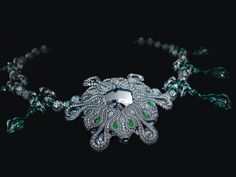 The back of the necklace's centerpiece. With LOVE from DK GEMS VOTED BEST st maarten jewelry stores