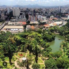 Parque Municipal Américo Renné Giannetti  -Foto tirada do Hotel Oton Palace pela @gabie_viana . 📌  #clicksbhdicas