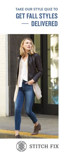 The long & short of it. Pair pieces of different lengths together for instant style cred. it's not what I would have chosen, but I like it! Fall Fashion 2016, Love Fashion, Autumn Fashion, Womens Fashion, Fashion Tips, Casual Outfits, Cute Outfits, Stitch Fix Outfits, Fall Winter Outfits