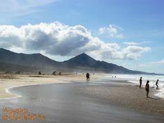 plaża Cofete na Fuerteventurze w obiektywie Pauliny #WyspyKanaryjskie