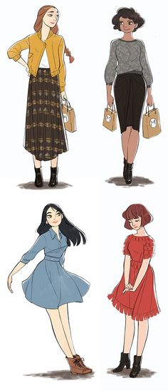 Miss Moss : Myrtle lookbook, illustrated by Mayumi Nose et al.