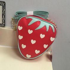 Luv Betsey Strawberry CrossbodyBoutique