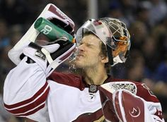 Mike Smith  Phoenix Coyotes..man this guy is getting much love these days