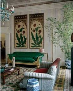 Renzo Mongiardino Image Via: Brillante room design interior decorating before and after design