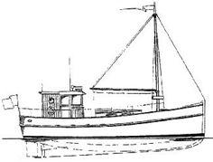 Power Cruiser 36 Trawler - Power Cruiser/Trawler   Chesapeake Marine Design