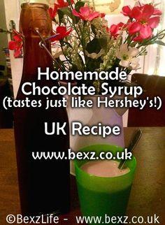 Chocolate Syrup UK Recipe – UK Hershey's Clone – Chocolate Milk (Milkshake): http://www.bexz.co.uk/chocolate-syrup-uk-hersheys-copycat-clone-recipe-chocolate-milk-milkshake/