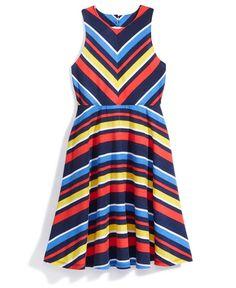 Nowadays x Bailee Madison Striped Knit Dress, Big Girls (7-16) & Juniors (1-5)