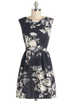 Monochrome at Last Dress